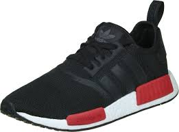 adidas shoes nmd womens. black red adidas women running shoes nmd r1 womens
