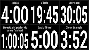 Timer 4 Min Sports Timer Sports Timer