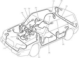 subaru forester wiring diagram and cable routing circuit subaru forester wiring cable routing