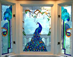 stained glass window decals interior decor ideas windows stickers decal clings