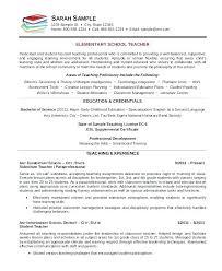 Educator Sample Resumes Sample Substitute Teacher Resume Substitute Teacher Resume Samples 63