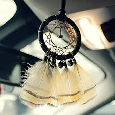 RTGFB Dream Catcher Tassels Interior Mirror <b>Indian Style</b> ...