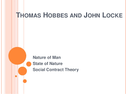 Hobbes And Locke Venn Diagram Nature Of Man State Of Nature And Social Contract John