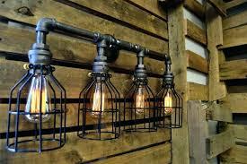 industrial style bathroom lighting.  Industrial Industrial Vanity Light Fixtures Bathroom Lights Exciting  Lighting Vintage   In Industrial Style Bathroom Lighting Y