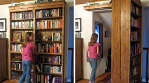 I don't know about you, but I will never outgrow my child-like desire to  have secret passages and hidden rooms in my house. This sliding door  bookshelf may ...