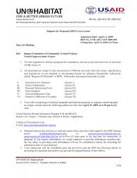 cover letter request for proposal cover letter writing a request ...