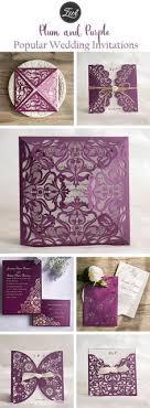 the 25 best purple wedding invitations ideas on pinterest save Cadbury Purple Wedding Invitations Online popular plum and purple wedding invitations from elegant wedding invites Black and Purple Wedding Invitations