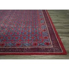 blue area rugs 8x10 wool rug classic border pattern red blue area jute rugs solid navy