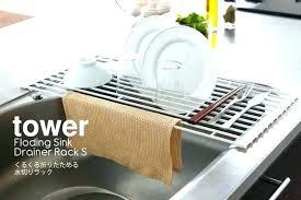 over sink dish rack sink drainer rack kitchen sink dish racks sink dish drainer rack kitchen sink dish drainer half