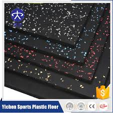 fitness room gym rubber flooring tile and roll