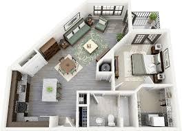 One Bedroom Apartment Design Enchanting HotelR Best Hotel Deal Site