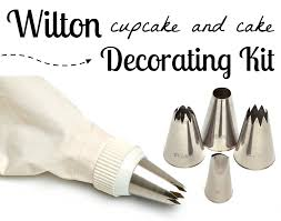 Wilton Cake Decorating Accessories Impressive Wilton Cupcake Cake Decorating Set Gourmet Cookie Bouquets