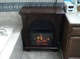 full image for warm house retro electric fireplace floor standing vintage insert regent antique gany foyer