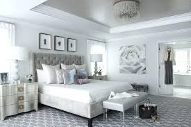 Gray And White Bedroom Gray And Silver Bedroom With Gray Tray ...