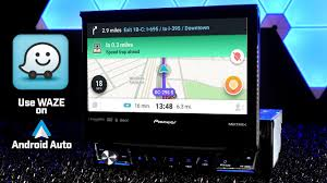 pioneer 3300nex. how to use waze through android auto! pioneer avh-3300nex for demonstration - re-edit 3300nex