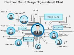 Electronic Circuit Design Organizational Chart Flat