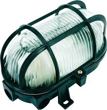 Bolcom Elro Be60z Buitenlamp Bull Eye Ovaal Zwart