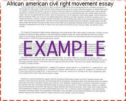 african american civil right movement essay homework service african american civil right movement essay