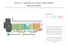 Hollywood Theater Las Vegas Seating Chart Planet Hollywood Seating Chart V Theatre Saxe Theatre