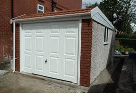 hanson garage doorHanson Duchess Range Pent Roof Garages  Megasheds North Wales