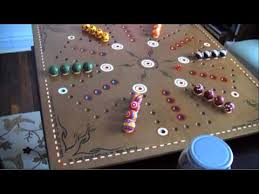 Beautiful Wooden Marble Aggravation Game Board Homemade Aggravation Board YouTube 85