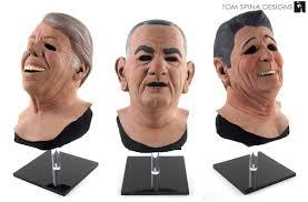 ... Point Break Presidents masks busts from Patrick Swayze movie ...