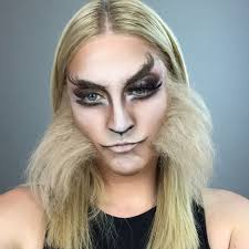 big bad wolf makeup design