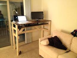 wood standing desk standing desk furniture wood stand up desk plans wood standing