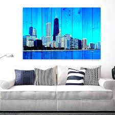 ikea chicago skyline photo