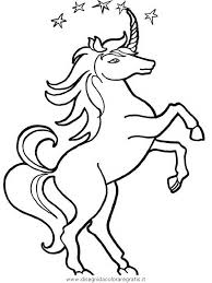 Disegno Unicorno002 Categoria Fantasia Da Colorare