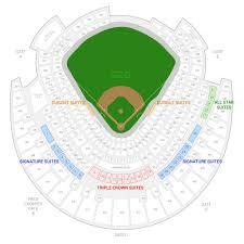 Kauffman Stadium Row Chart Kauffman Seating Chart Seating Chart