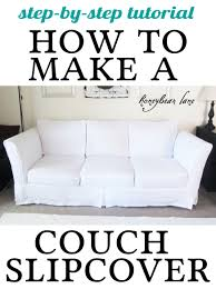 how to cover furniture. How To Make A Couch Slipcover Cover Furniture I