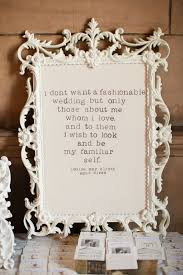 Wedding Quotes I Dont Want A Fashionable Wedding But Only
