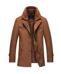 brown wool coat mens