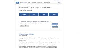 Mla Citation Free Citation Generators Cite Mla Apa And More In A Few