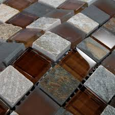 Glass Tile Bathrooms Beautiful Stone Glass Tile For Bathroom Wall Tiles And Kitchen