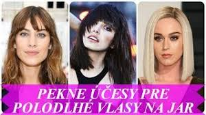 Damske Kratke Ucesy Z Kuceravych Vlasov Na Jar 2018 Zoomzemcom