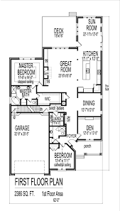 bedroom house plans with open floor plan bungalow attic split six house plans with two main level master