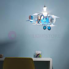 biplane zero line plane 3d chandelier hanging bedroom child
