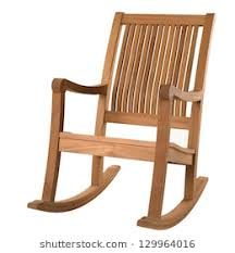 wooden rocking chair. Plain Rocking Rocking Chair On White With Wooden Rocking Chair C
