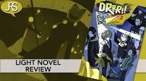 Durarara Light Novel Amazon Durarara Volume 2 Light Novel Review