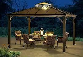 outdoor gazebo lighting uk ideas l