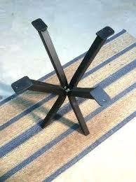 metal pedestal table base. End Table Base Awesome Metal Pedestal Steel Accent Legs . E