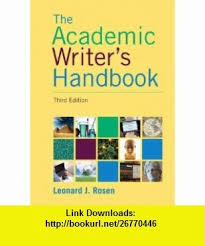 best academic writers ideas economic statistics  academic writers handbook 3rd edition 9780205717613 leonard j rosen isbn