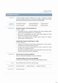 Sample Resume Format For Administrative Assistant Beautiful Best ...