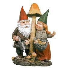 garden gnome statues. Exellent Garden Mushroom Hunters Garden Gnome Statue Inside Statues T