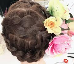 成人式髪型と髪飾り帯結びをご紹介します 振袖フォトスタジオ四季