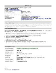 Java J2ee Sample Resume Sample Resume For Java J2ee Developer