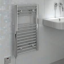 Kudox Electric Towel Warmer (H)700mm (W)400mm   Departments   DIY at B&Q