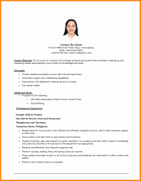 Simple Resume Examples For Jobs Simple Job Resume Examples Beautiful Sample Resume In Australia 18